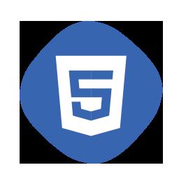 icono de html 5 para progrmacion web