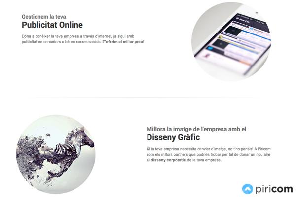 servicios piricom puigcerda diseño grafico y web en Puigcerda (cerdanya)