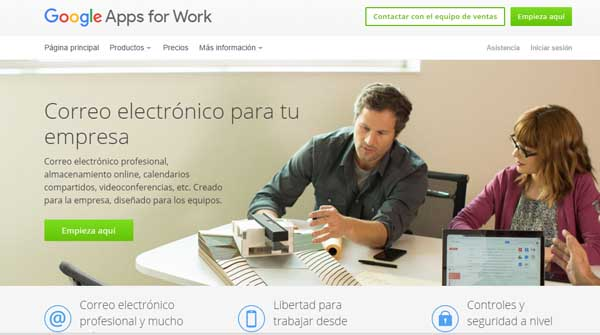 visibilidad de los call to actions en Google Apps