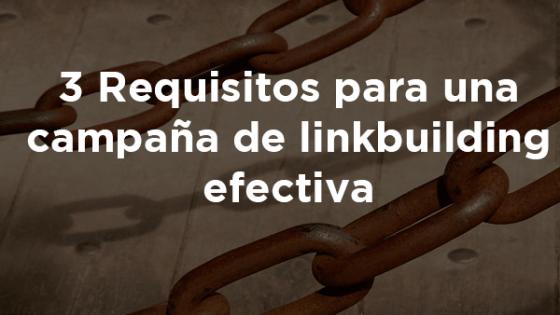 Campaña de linkbuilding