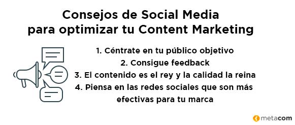Consejos de Social Media