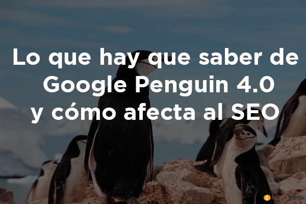 Nuevo Google Penguin