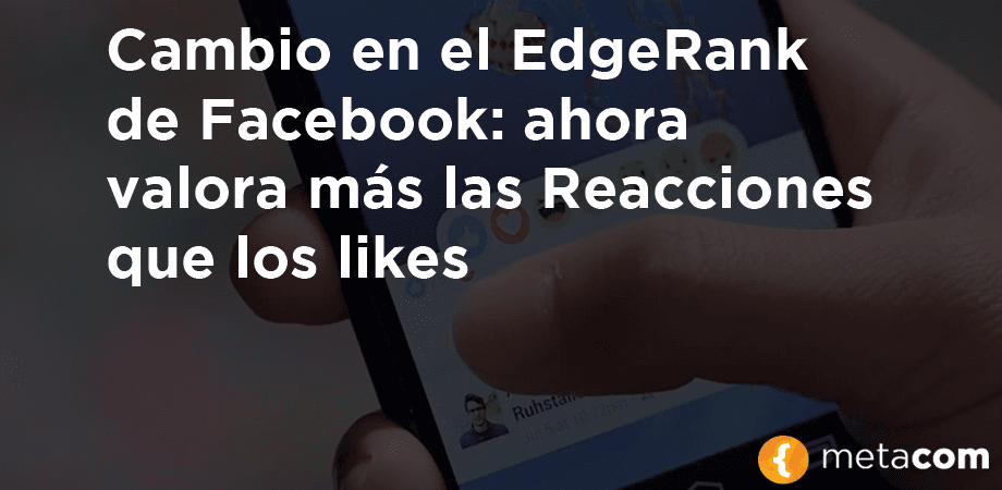 edgerank de facebook