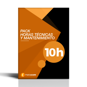 Incidencias Web Pack de 10h de programación web