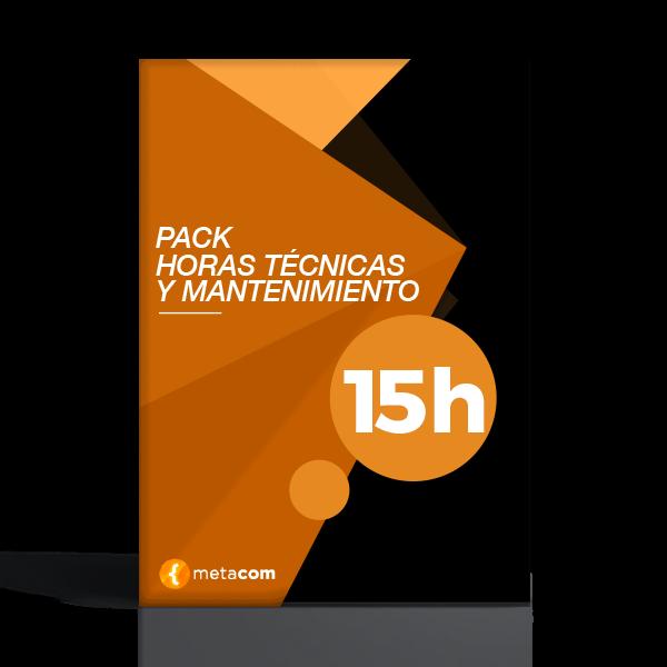 Servicio de 15 Horas técnicas para mantenimiento web