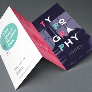 Imagen del diseño de trípticos de Metacom Barcelona