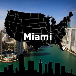 Mapa de Oficinas de Metacom Miami