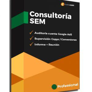 Consultoria de SEM Professional y servicios expertos de Google AdS