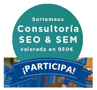 Insignia sorteo consultoria SEO & SEM en Metacom