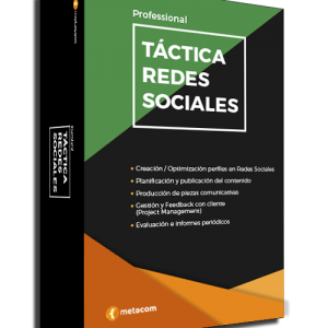 Packaging Táctia de Redes Sociales Professional