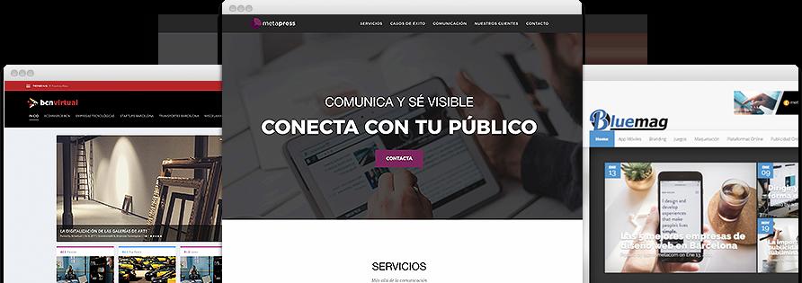 Páginas web de éxito gracias al marketing de contenido