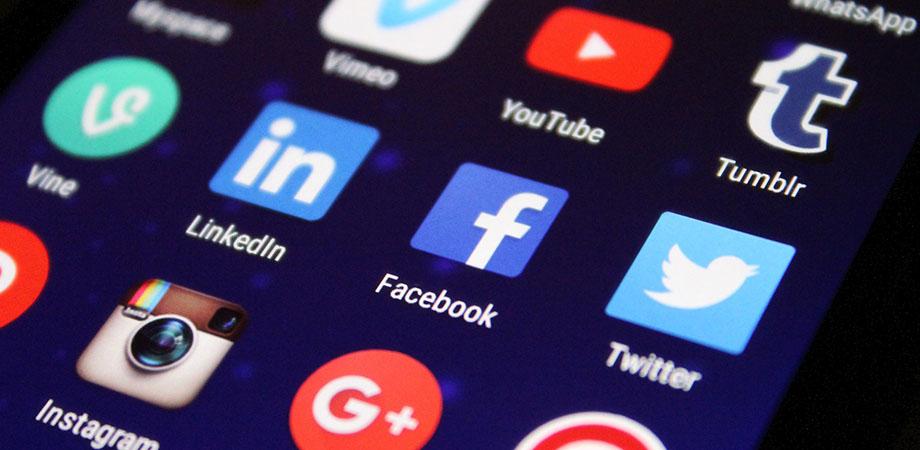 Redes sociales de la empresa