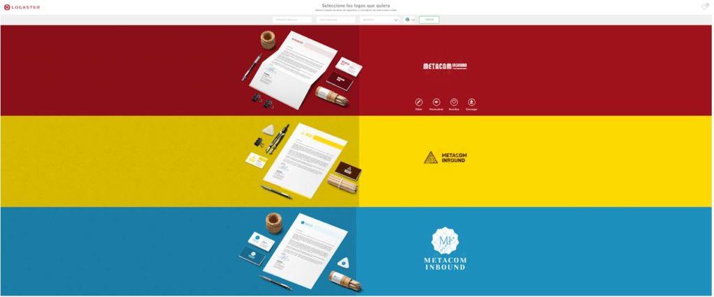 Crear un logo con Logaster