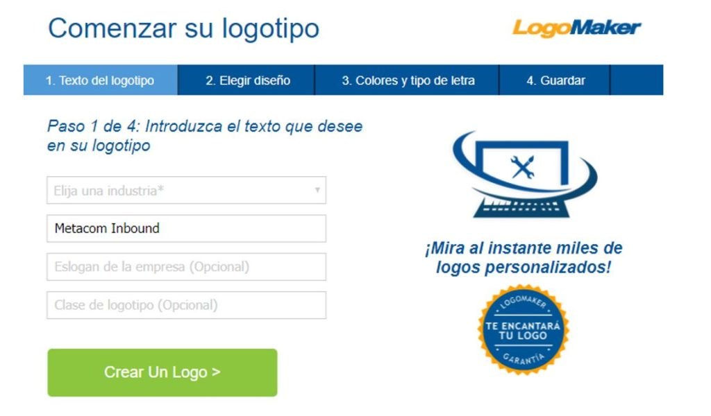 Herramienta Logo Maker