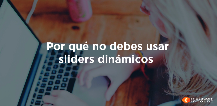 Sliders dinámicos